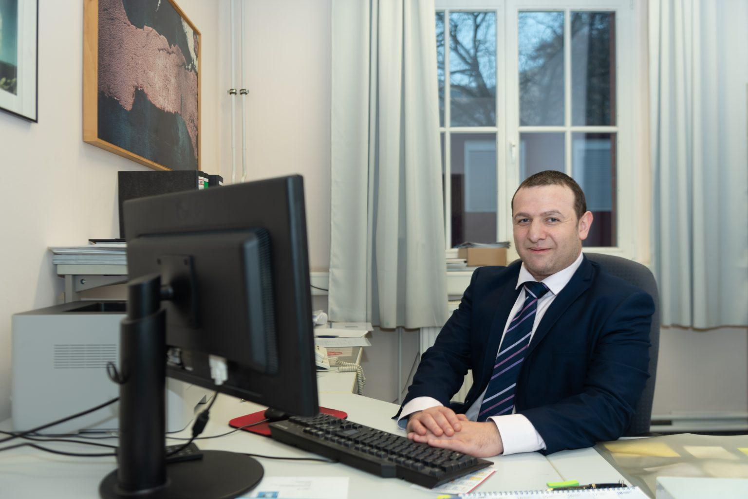 David Rubenstein, Geschäftsführer der Jüdischen Gemeinde in Hamburg | Foto: © Armin Levy